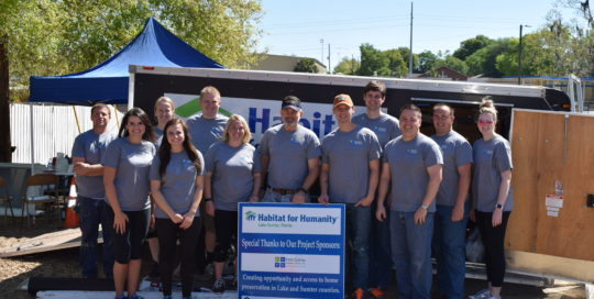 FCPG participates in Habitat for Humanity